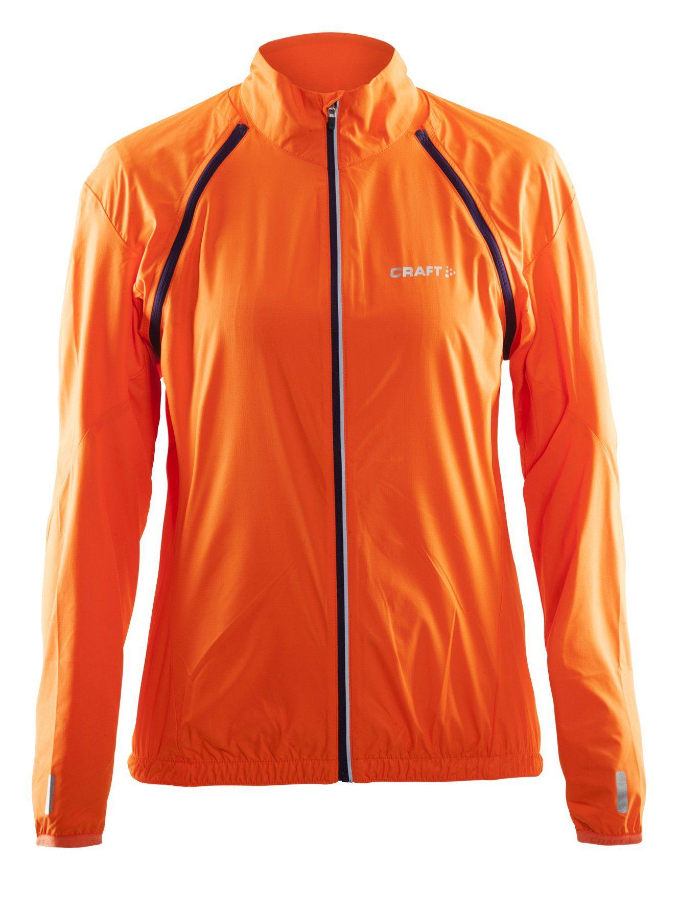 Craft Kurtka rowerowa Path Convert W, pomarańczowa L, DOSTAWA GRATIS, BEZPŁATNY ODBIÓR: WARSZAWA, WROCŁAW, KATOWICE, KRAKÓW!