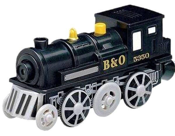 Maxim Elektrická lokomotiva - černá