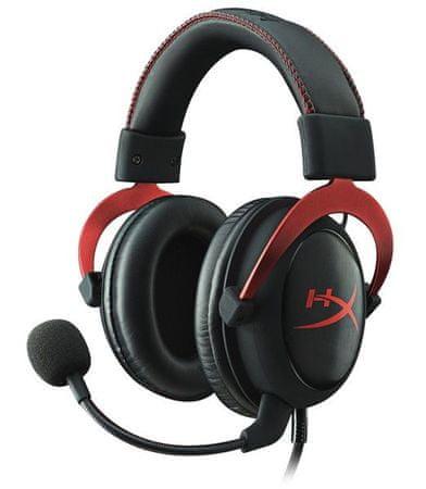 Kingston HyperX Cloud II Pro mikrofonos fejhallgató