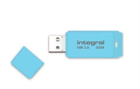 Integral spominski ključek Pastel 32 GB USB3.0 Blue Sky