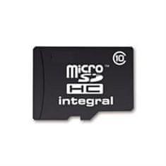 Integral spominska kartica Micro SDHC 8GB C10 20MB/s + SD adapter
