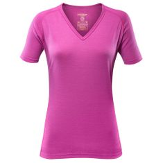 Devold Breeze Woman T-Shirt V-Neck