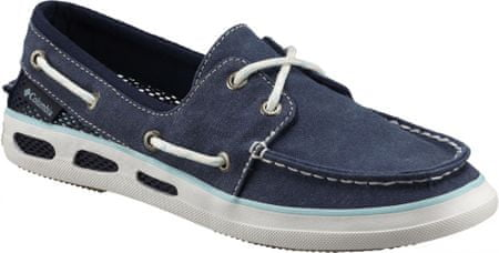 COLUMBIA trampki Vulc N Vent Boat Canvas Collegiate Navy/Candy Mint 37,5
