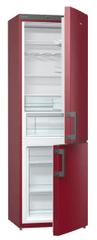Gorenje RK 6192 ER A++ Kombinált hűtőszekrény, Bordó