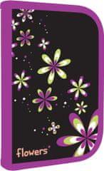 Karton P+P Virágos tolltartó