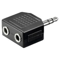 Goobay avdio 3,5mm -> 2 x 3,5mm adapter