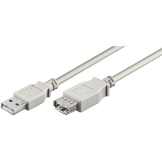 Goobay USB 2.0 podaljšek A(M)->A(F), 1,8 m