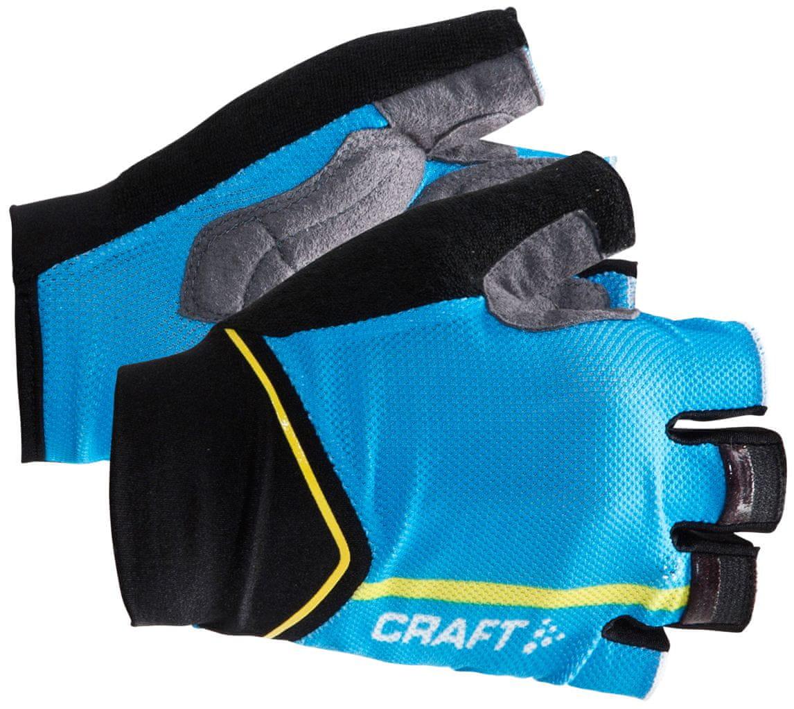 Craft Rękawiczki rowerowe Puncheur, niebieskie M
