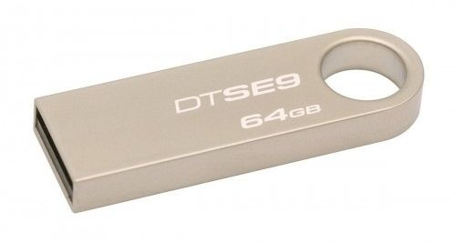 Kingston DataTraveler SE9 64GB / USB 2.0 / Metal (DTSE9H/64GB)