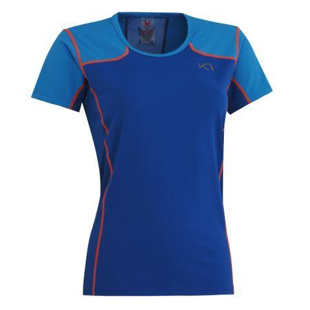 Kari Traa majica s kratkimi rokavi Anne, ženska, modra, L