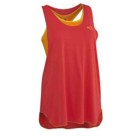 Kari Traa majica brez rokav Tina, ženska, rdeča, L