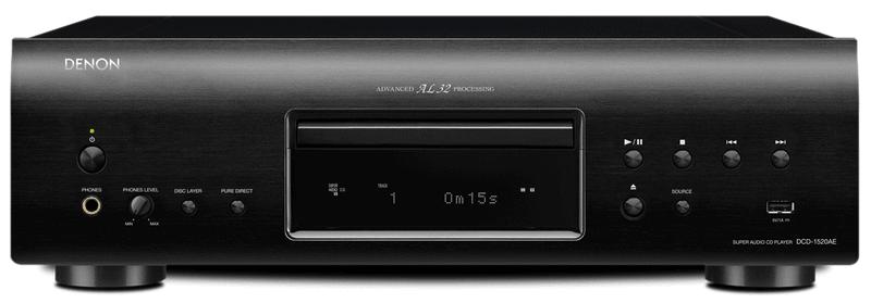 Denon DCD-1520AE (Black)
