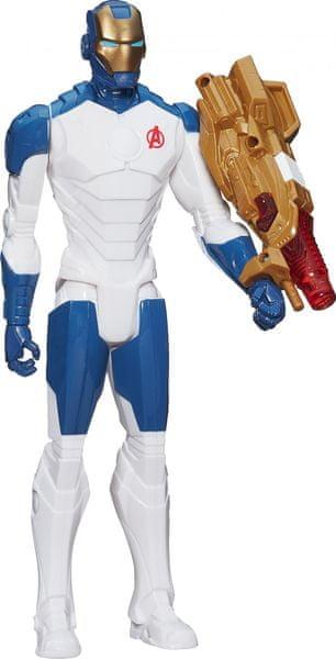Avengers Akční figurka se svítícími doplňky IRON MAN