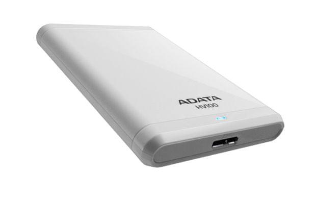 Adata HV100 - 1TB, USB 3.0 Bílý (AHV100-1TU3-CWH)
