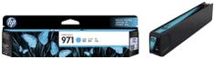 HP kartuša 971, Cyan (CN622AE)
