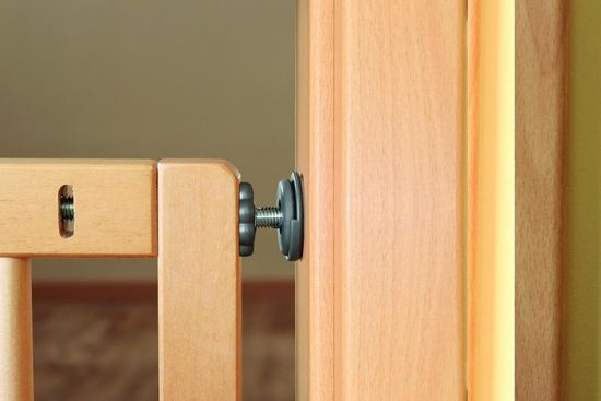 Reer Zábrana Basic TwinFix Active-Lock, dřevěná - rozbaleno
