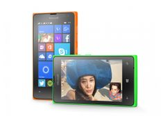 Microsoft Lumia 435 DualSIM, oranžová