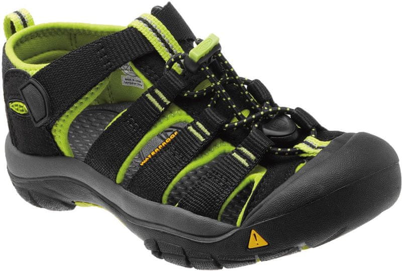 KEEN Newport H2 Jr Black/Lime Green 1 US (32,0/33,0 EU)