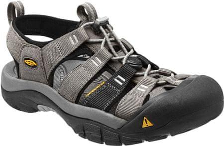 KEEN sandali Newport H2 M, moški, sivo-črni, 10