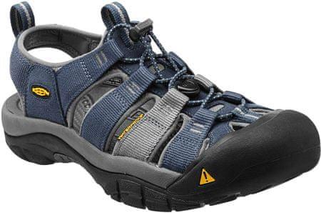 KEEN sandali Newport H2 M, moški, modro-sivi, 11