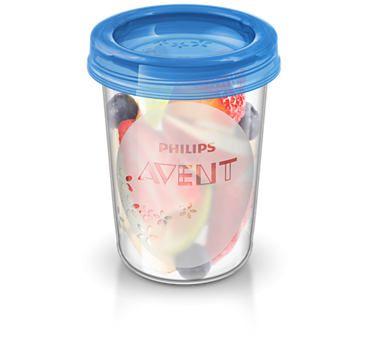 Philips Avent skodelica s pokrovom VIA, 240 ml, 5 kosov