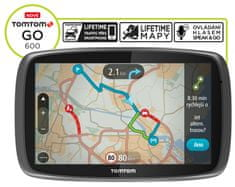 TomTom GO 600 Europe Lifetime 1FA6.002.05