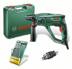 Bosch młotowiertarka PBH 2100 SRE + 6 wierteł