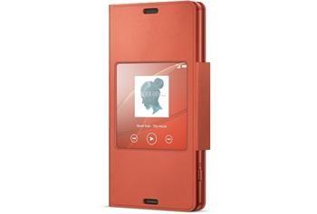 Sony Pouzdro Smart, Xperia Z3 Compact, oranzova
