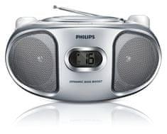 PHILIPS AZ105N hordozható CD-s rádió