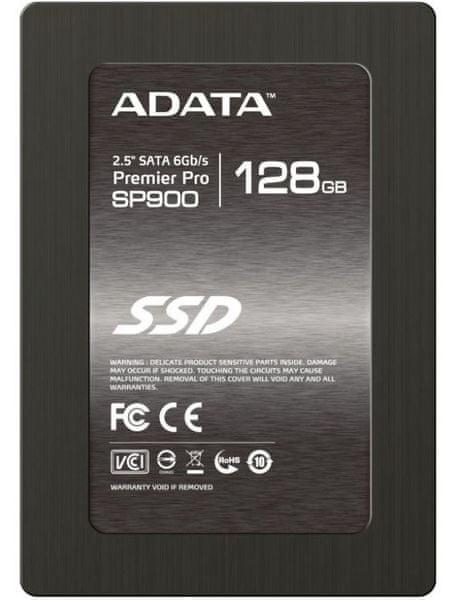 """Adata Premier Pro SP900, 128 GB, 2,5"""" SSD (ASP900S3-128GM-C)"""