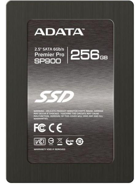 """Adata Premier Pro SP900, 256 GB, 2,5"""" SSD (ASP900S3-256GM-C)"""
