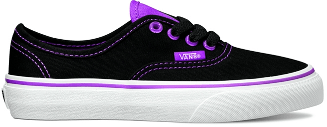 Vans K Authentic (Cleareylts) Blk 31,5