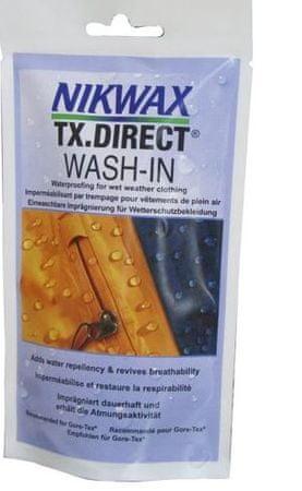 Nikwax impregnacija TX Direct Wash In, 100 ml