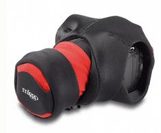 Miggo Grip and Wrap SLR, rdeč/črn