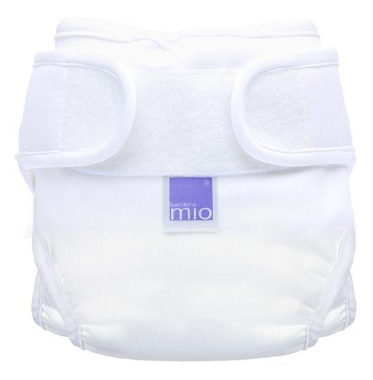 Bambinomio Miosoft nohavičky NEW, biele veľ. 1