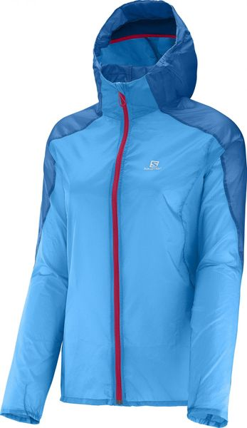 Salomon Fast Wing Hoodie W Blue Line/Methyl Blue XS