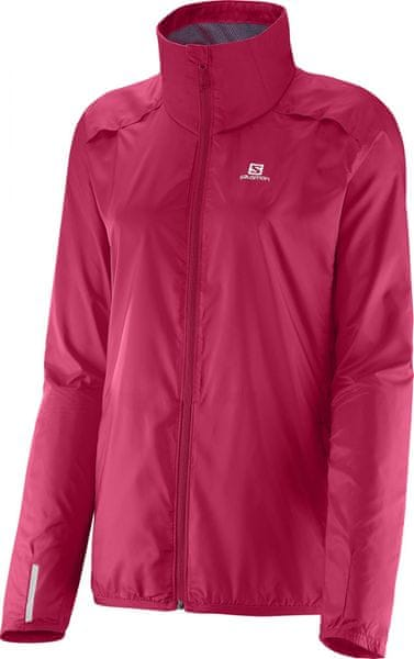 Salomon Agile Jacket W Lotus Pink/Nightshade L