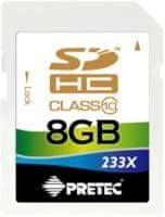 PRETEC SDHC 8 GB (class 10)