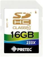 Pretec SDHC 16GB (class 10)