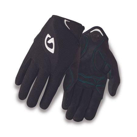 Giro kolesarske rokavice Tessa LF, ženske, črno/bele, S