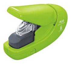 Sešívač bezsponkový PLUS 5 listů zelený