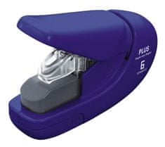 Sešívač bezsponkový PLUS 5 listů modrý