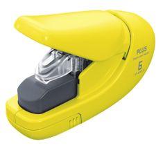 Sešívač bezsponkový PLUS 5 listů žlutý