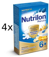 Nutrilon Mliečna kaša ovocná - 4 x 225g