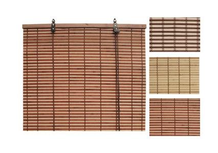 Rolo zavesa iz bambus letvic 120x140cm (95-372000)