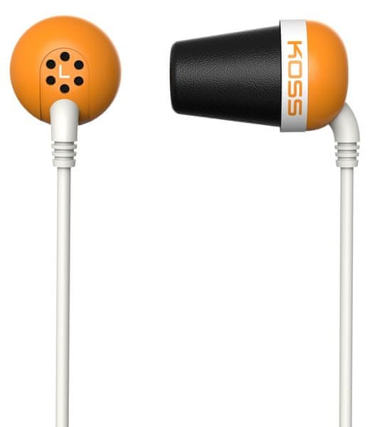 KOSS The Plug Orange (2 roky záruka)