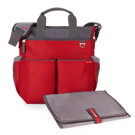Skip hop previjalna torba Duo Signature, rdeča