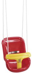 Hudora otroški sedež za gugalnico, rdeč