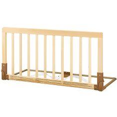 BabyDan Zábrana k posteli dřevěná přírodní  - rozbaleno