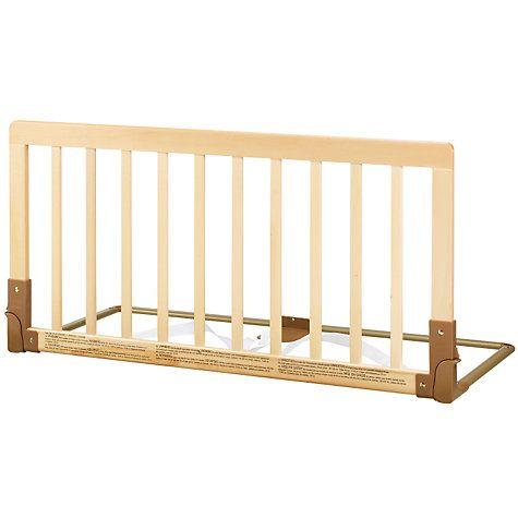 BabyDan Zábrana k posteli dřevěná přírodní - II. jakost